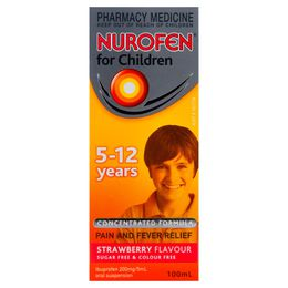 Nurofen For Children 5-12 Years Strawberry