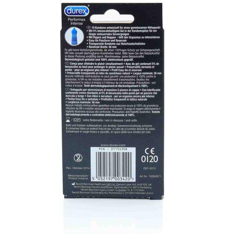 Durex Performax Intense, 10 Kondome