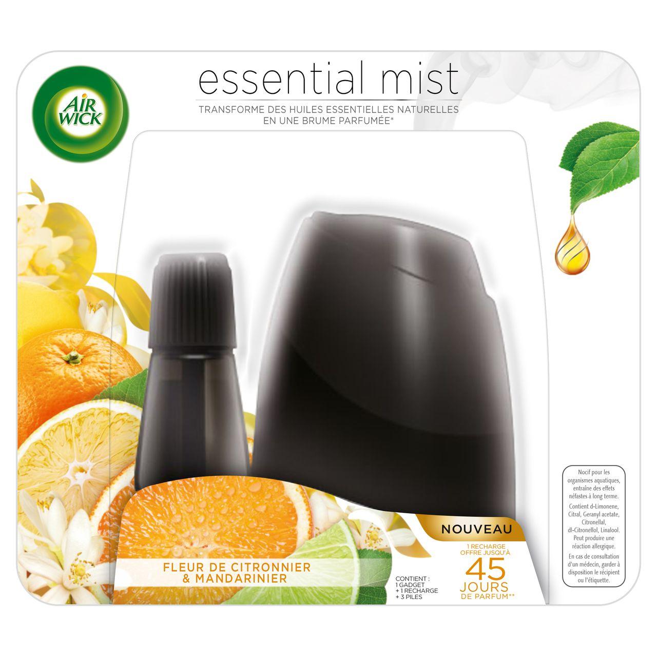 recharge diffuseur essential mist fleur de citronnier de. Black Bedroom Furniture Sets. Home Design Ideas