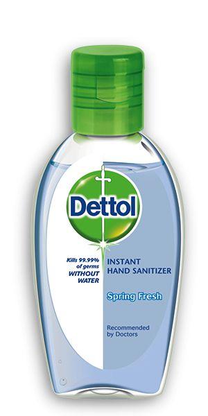 Dettol Instant Hand Sanitizer Spring Fresh 50ml