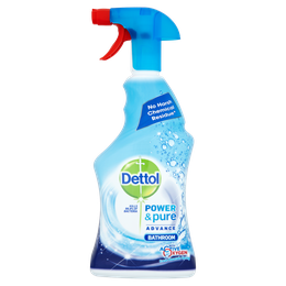 Dettol Power & Pure Advance Bathroom Spray - Bathroom