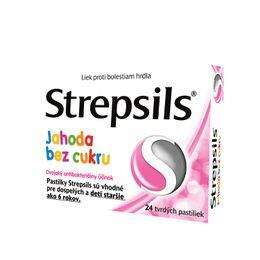 Strepsils Jahoda bez cukru