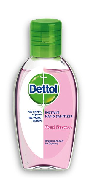 Dettol Instant Hand Sanitizer Floral Essence 50ml