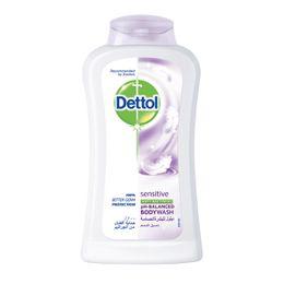 غسول الجسم ديتول للبشرة الحساسة المضاد للبكتيريا 250 مل