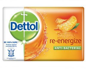 Dettol Antibacterial Re-Energise Bar Soap