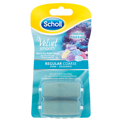 Scholl Velvet Smooth Roller Head - Regular Coarse