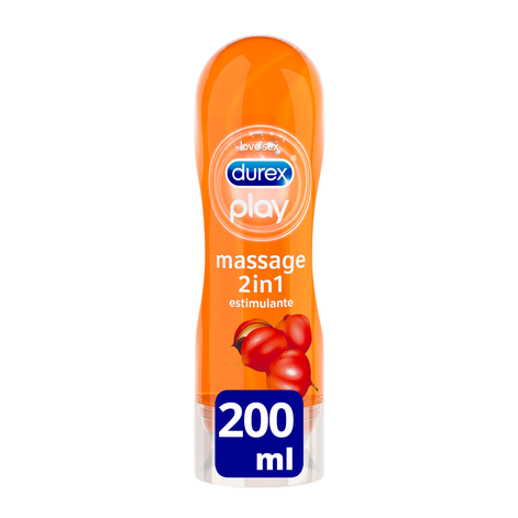 Durex Play Massage 2 en 1 Estimulante 200 ml