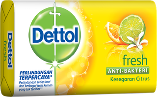 Sabun Anti Bakteri Dettol Fresh (65g)