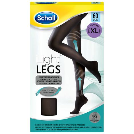 Collants Scholl Light Legs™ 60D Noir XL