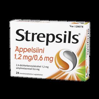 Strepsils Appelsiini imeskelytabletti 24 kpl