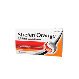 Strefen Orange sugetabletter 16 stk.