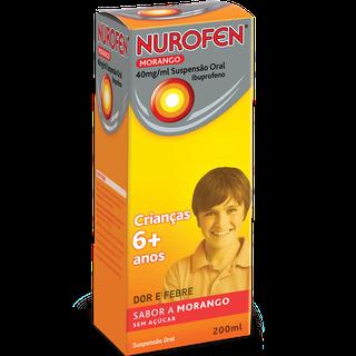 Nurofen Morango Suspensão Oral 40mg/ml