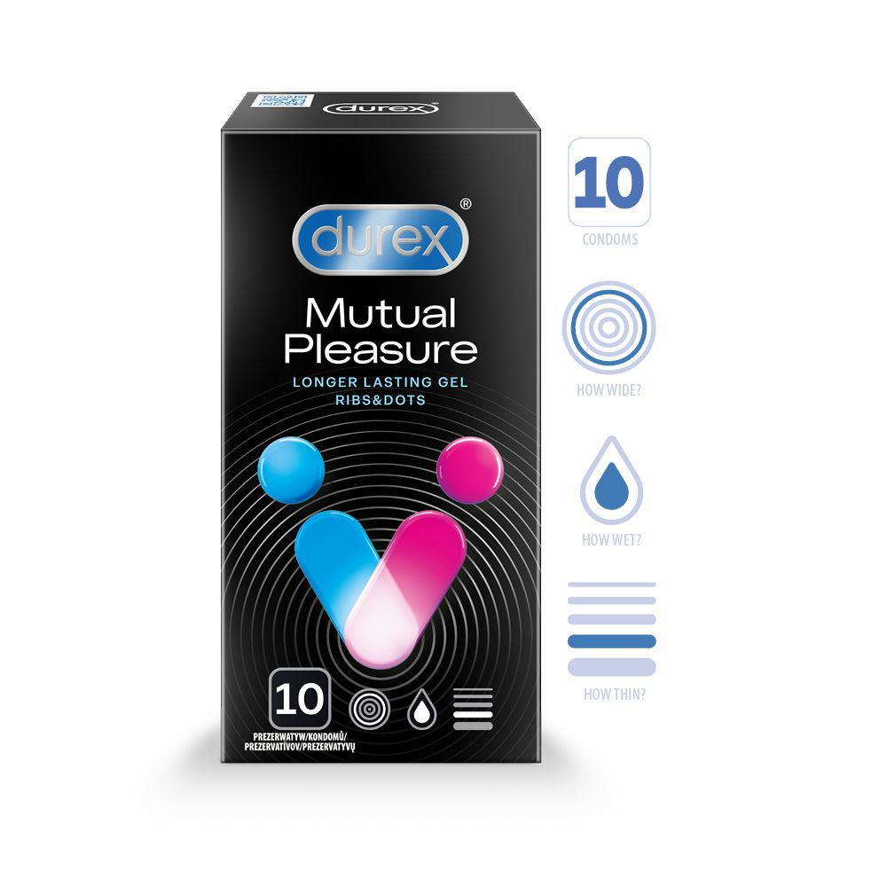 DUREX Mutual Pleasure N10