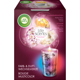 Air Wick Bougie Multicolor Le Plaisir Estival