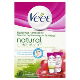 Veet Natural Inspirations Face Cream Kit 100ml