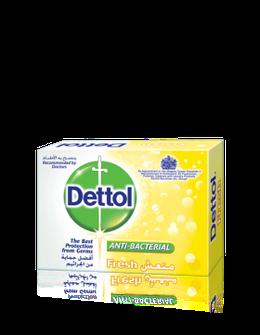 صابون ديتول جددي نشاطك ضد الجراثيم 90 جم