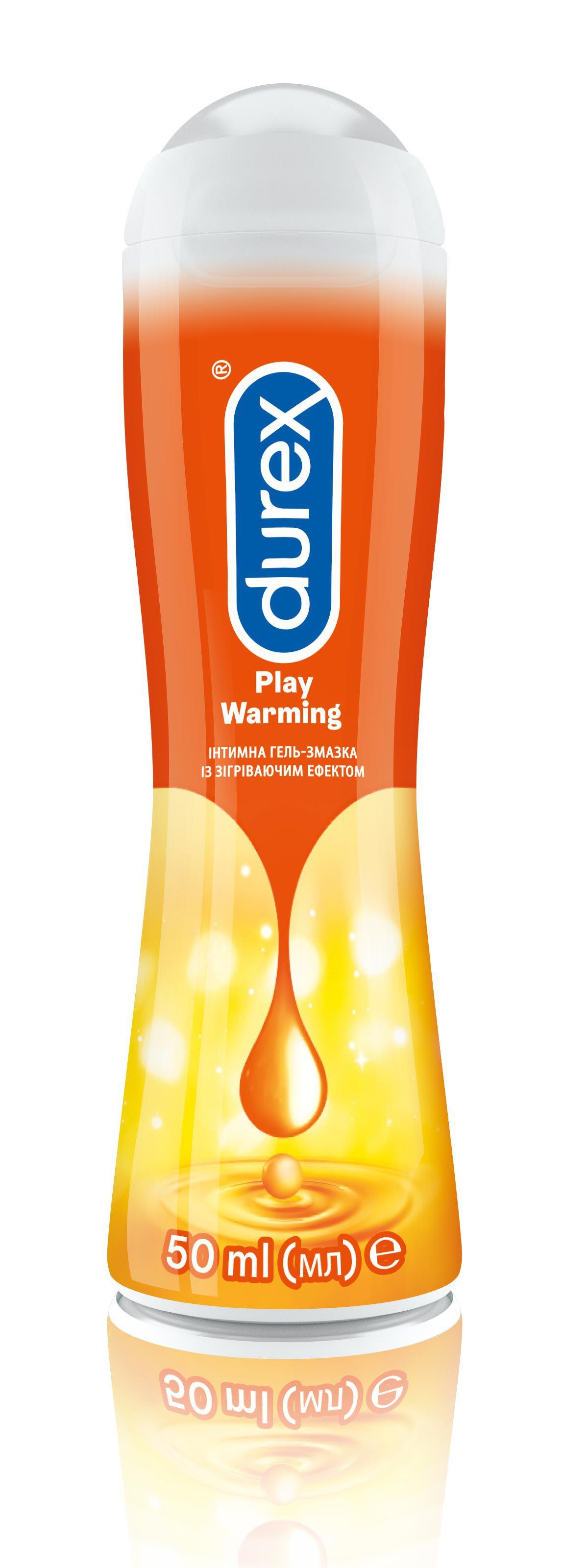 Intymna hel zmazka Durex Play Heat, 50ml