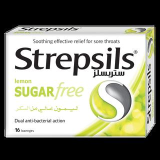 Strepsils الليمون الخالي من السكر
