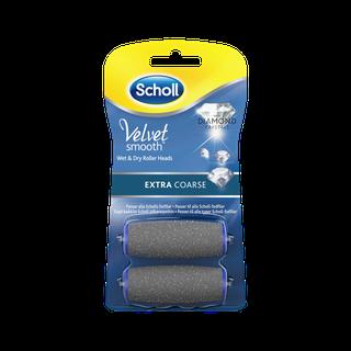 Scholl Velvet Smooth Refills med diamantkristaller - Extra Course 2 st.