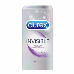 Durex Invisible, Extra Thin, Extra Lubricated Condoms