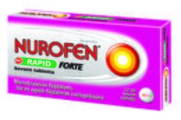 Nurofen Rapid Forte 400mg bevont tableltta menstruációs fájdalom csillapítására