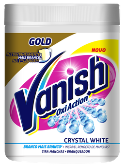 Vanish Gold Oxi Action Crystal White 450g