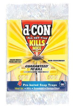 d-CON® All Set Snap Traps