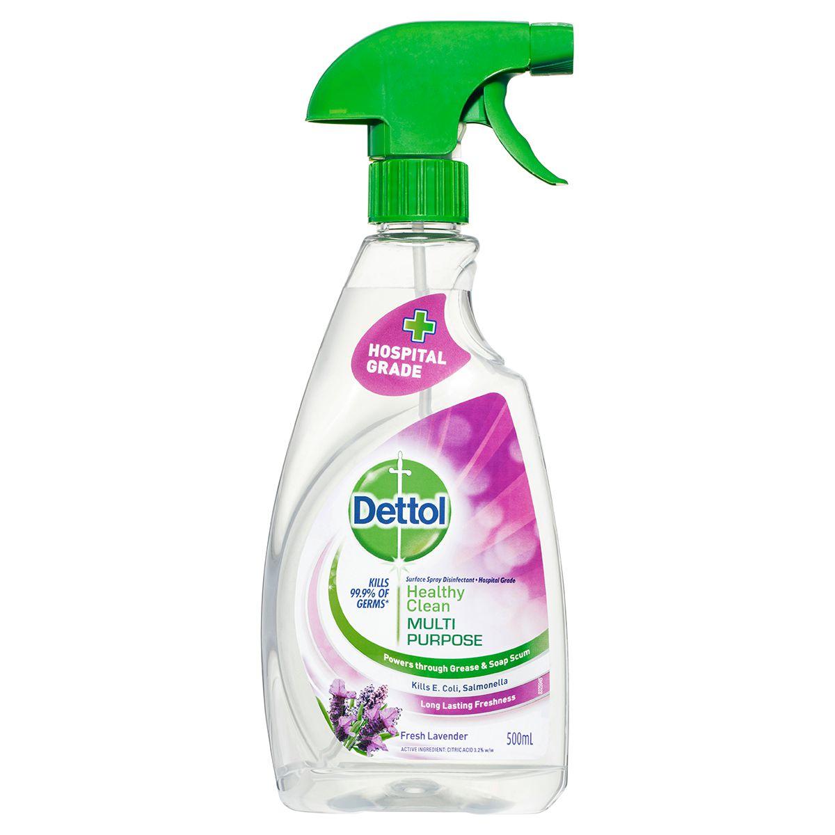 Dettol Healthy Clean Multipurpose Trigger Fresh Lavender 500ml