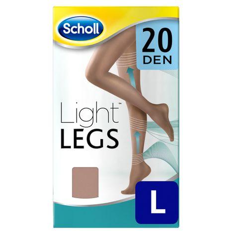 Medias de compresión ligera Scholl Light Legs 20 DEN color carne L