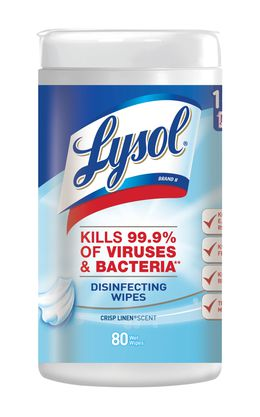 Lysol® Disinfecting Wipes - Crisp Linen®