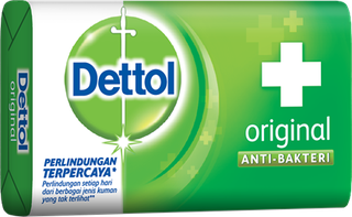 Sabun Anti Bakteri Dettol Original (3 x 105g)