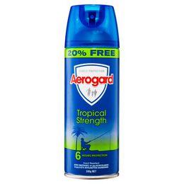 Aerogard特护加强型防蚊气雾剂300克