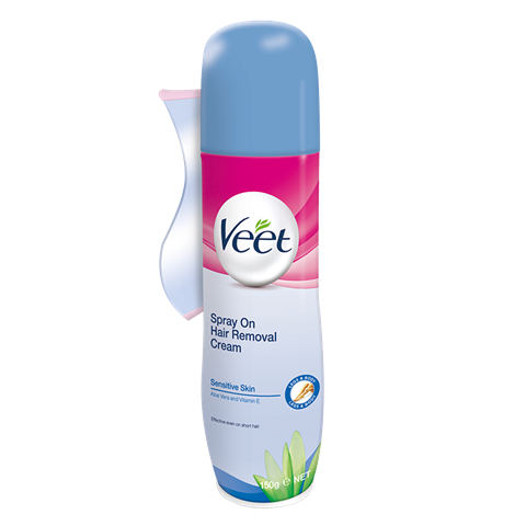 Veet Spray On Hair Removal Cream Sensitive Formula Veet New