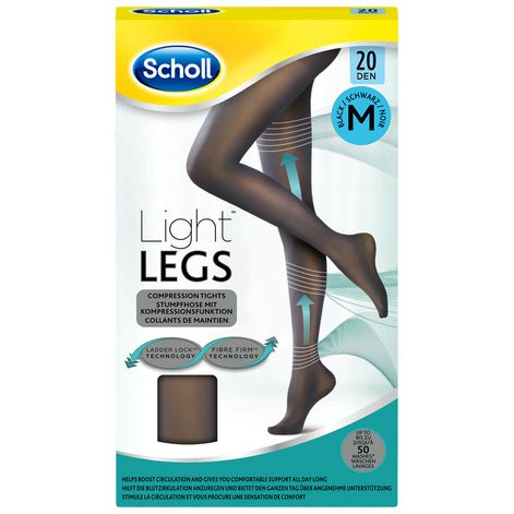 Collants Scholl Light Legs™ 20D Noir M