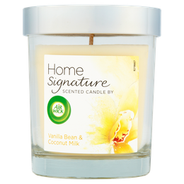 Air Wick Home Signature Lidded Candle - Vanilla Bean & Coconut Milk