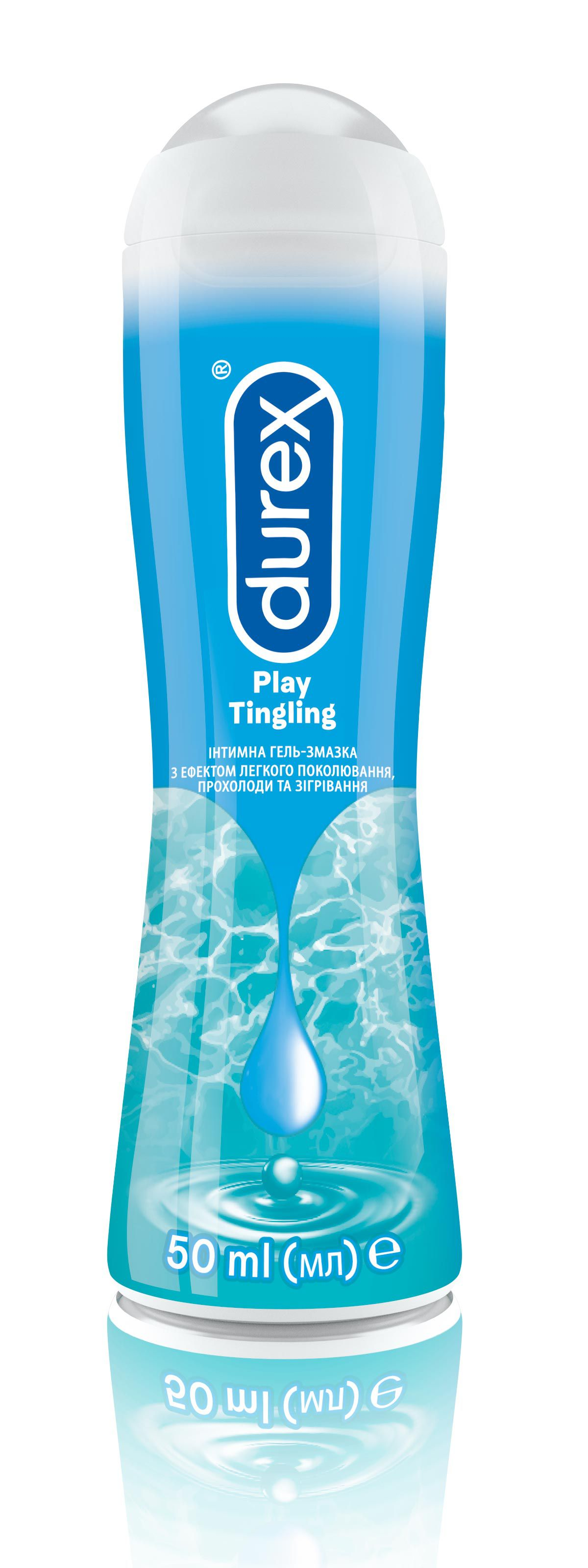 Intymna hel zmazka Durex Play Tingle, 50ml