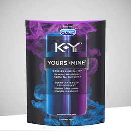 K-Y® YOURS+MINE COUPLES LUBRICANTS®