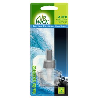 Air Wick® Ocean Breeze Repuesto para auto 7 ml