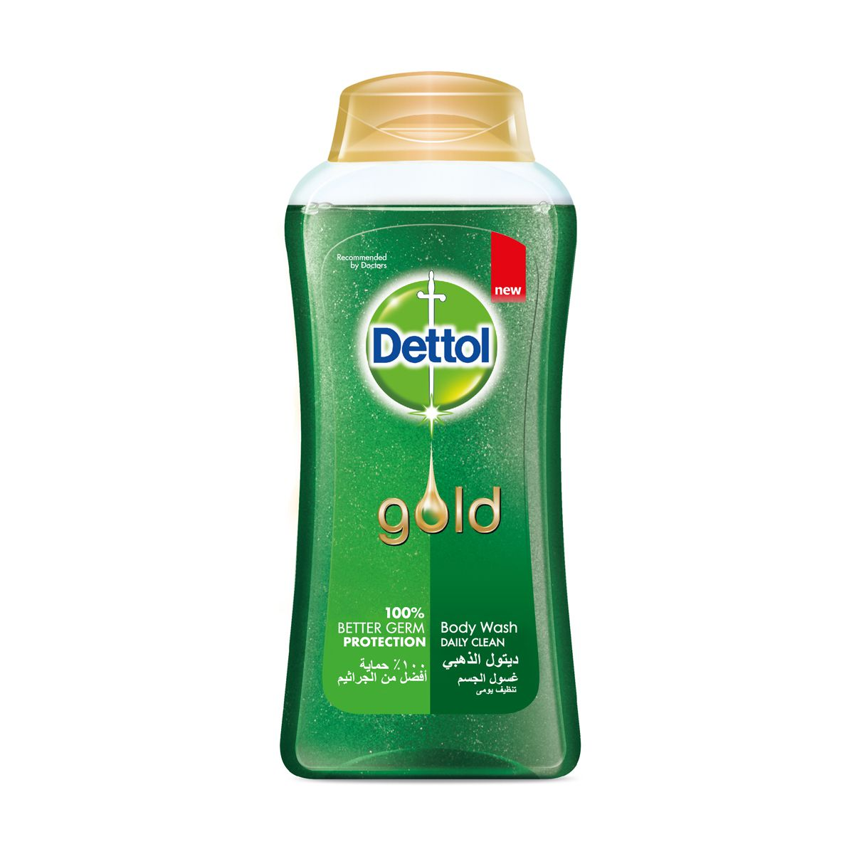 Dettol Gold Anti Bacterial Shower Gel Daily Clean