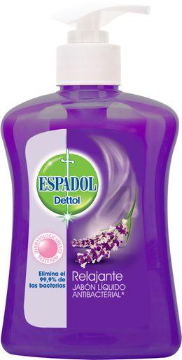 Espadol Dettol Jabón Liquido Antibacterial* Toque Saludable