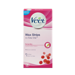 Veet® EasyGrip™ Ready-to-Use Wax Strips For Normal Skin