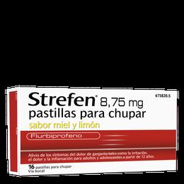Strefen 8,75 mg pastillas para chupar sabor miel y limon