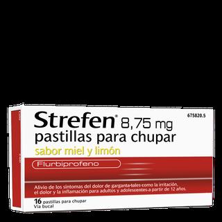 Strefen 8,75MG pastillas para chupar Sabor Miel y Limón