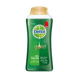 جل استحمام ديتول الذهبي المضاد للبكتيريا للتنظيف اليومي 250 مل