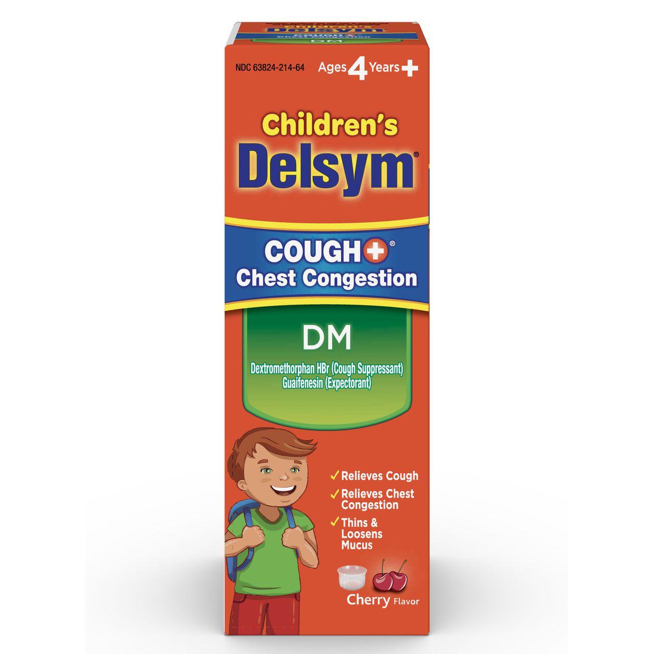 Delsym Children S Cough Chest Congestion Dm