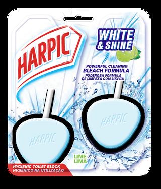 HARPIC ACTIVE FRESH HYGIENIC TOILET BLOCKS Lavender single