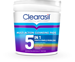 Clearasil® Multi Action 5 In 1 Cleansing Pads