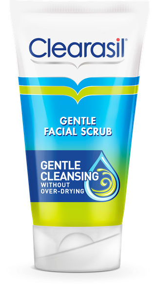""" Clearasil® Gentle Facial Scrub"""