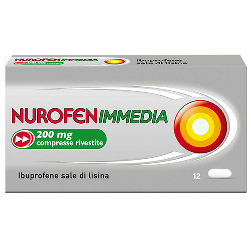 Nurofenimmedia 200mg Compresse Rivestite
