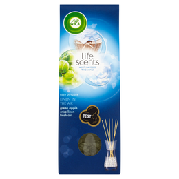 AIR WICK REED DIFFUSER LIFE SCENTS™ LINEN IN THE AIR